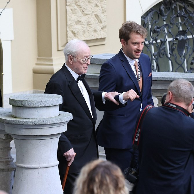 Michael Caine v Karlových Varech