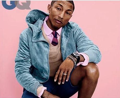 Pharrell Williams je vegan, nepije alkohol a snaží se být neustále happy!