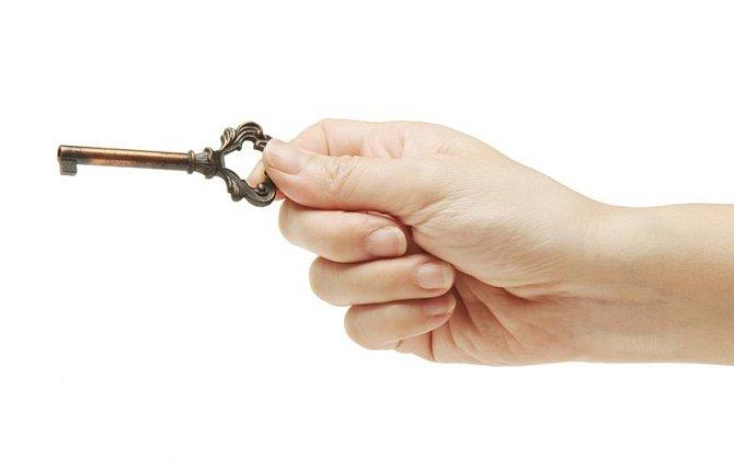Ilustrační foto - klíč