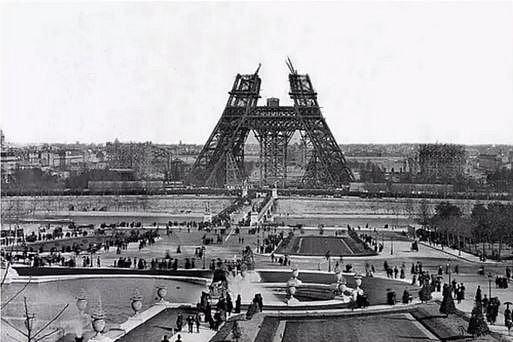 Stavba Eiffelovky