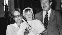 Dceru Kateřinu nechala pokřtít. Čest měl Václav Havel.