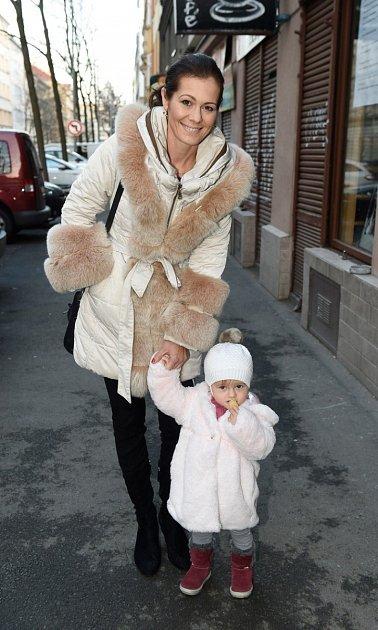 Jana Doležalová s dcerou Verunkou