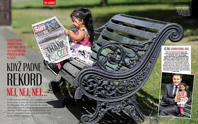 Svět v obrazech: Právě vychází nové číslo největšího časopisu na trhu
