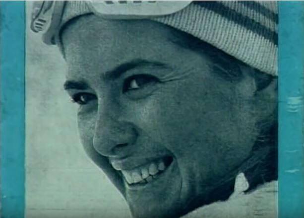 Ivana ještě coby Zelníčková byla českou reprezentantkou v lyžování a dařilo se jí.