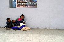 Ilustrační foto - Žena s dítětem v Mexiku