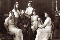 Car Mikuláš II. s rodinou