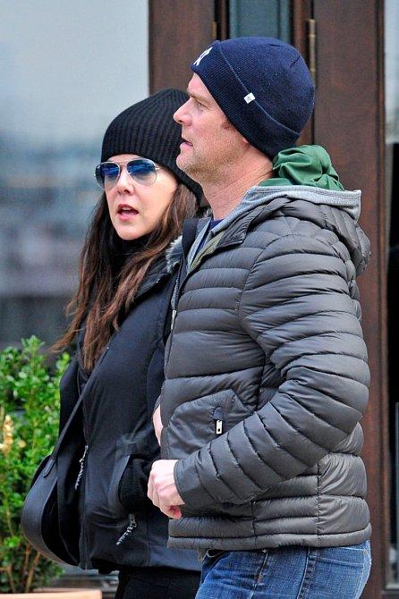 Lauren Graham s manželm