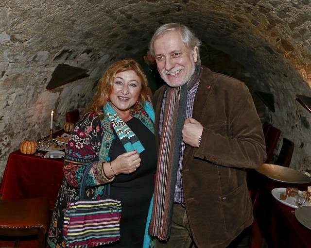 Halina Pawlowská a Zdeněk Zelenka