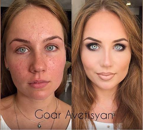 Síla make-upu