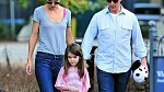Tom Cruise, Katie Holmes a jejich dcera Suri