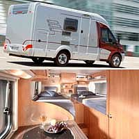 Úsporný karavan