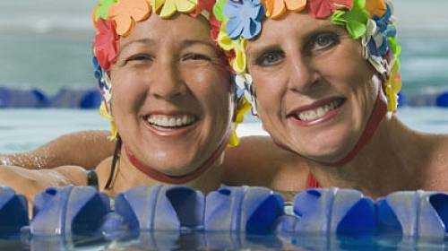 Bazénové kamarádky