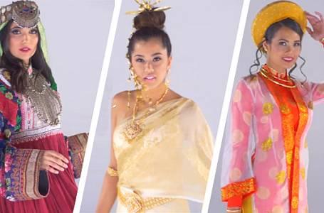 Svatební šaty v Asii
