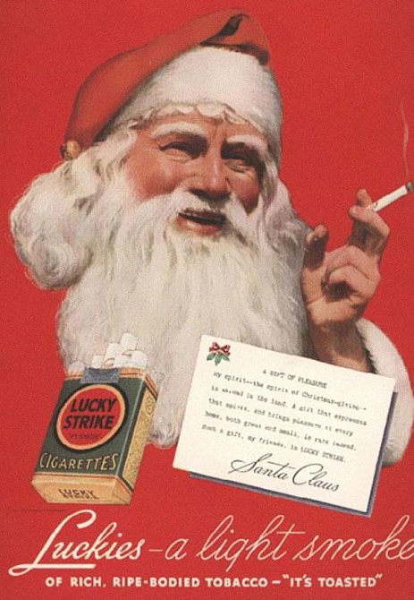 Kouřící Santa II