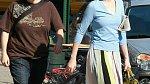 Cynthia Nixon s přítelkyní na nákupech