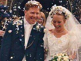 Svatba byla podle Johna jeden z nejkrásnějších okamžiků jeho života.