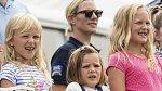 Zara Tindall s dětmi