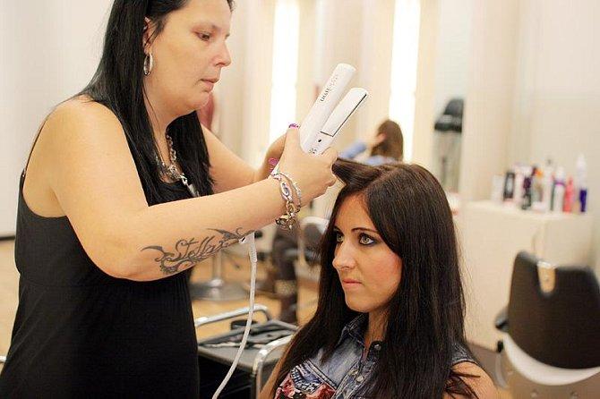 Závěrečná úprava vlasů