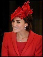 Vévodkyně z Cambridge byla opět sladěna do posledního detailu