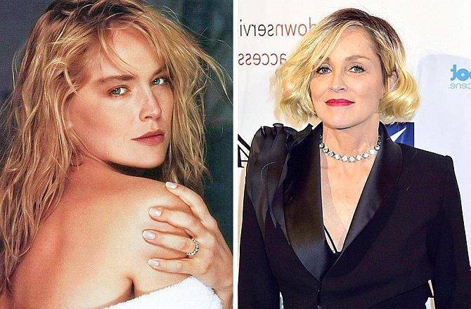 Sharon Stone 1992 - 2017