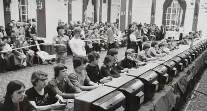 První mezinárodní olympiáda v hraní her