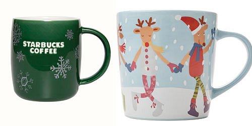 Vánoční kolekce Starbucks .