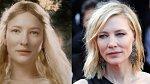 Jedna z vládkyní lesních elfů Galadriel, která sama nevěří tomu, že by odolala moci Prstenu. Hrála ji Cate Blanchett, tu jsme mohli nedávno vidět v Marvelovce Thor:Ragnarok, nebo třeba v komedii Debbie a její parťačky.