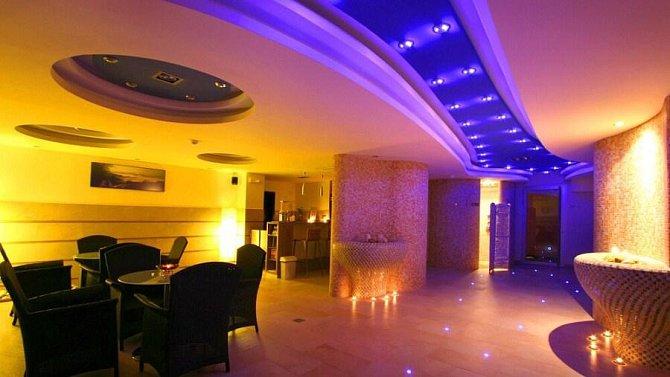 Nádherná relax zóna v hotelu Lanterna Velké Karlovice