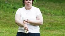 Paní Zuzana našla na procházce se psem pár hub - 17. 7. 2005