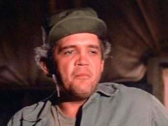 G. W. Bailey: Přelom v kariéře tohoto herce znamenala právě role v seriálu M.A.S.H., kde ztvárnil mechanika seržanta Rizza.