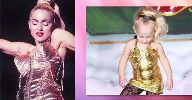 V tomto případě byla volná disciplína inspirovaná vystoupením Madonny.