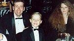 Kit Culkin se svým synem Macaulayem