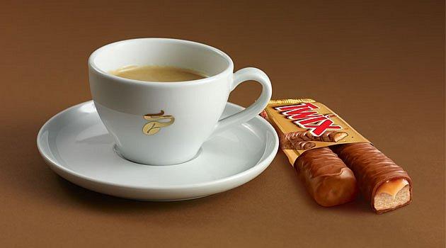 Káva miluje čokoládu