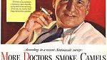Více doktorů kouří Camels