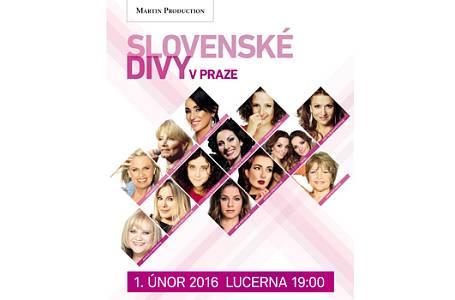 SLOVENSKÉ DIVY se POPRVÉ sejdou v pražské Lucerně