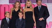 Patrick Dempsey s rodinou