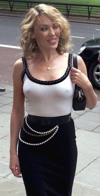 Kylie Minogue byla vždy považována za sexy idol.