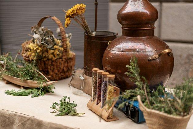 bylinky esenciální olej