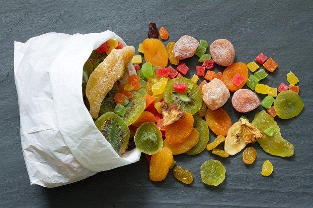 Důležitou součástí marokánek je kandované ovoce.