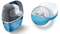 Absorpční tableta; krystalky pohlcují vlhkost a srážejí ji na tekutinu