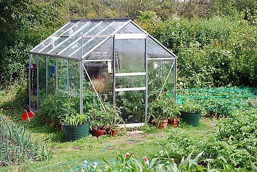 zahradní skleník