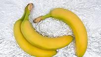 Banány budou dlouho čerstvé díky alobalu