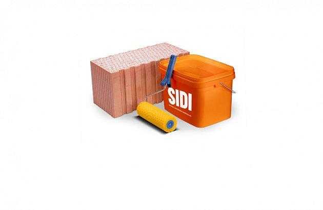Oproti tenkovrstvým maltám, kterých je třeba dovézt na stavbu půl palety, bude stačit na stavbě pár kýblů malty HELUZ SIDI.