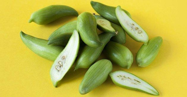 Mladé plody s nezralými semeny jsou chutné i syrové