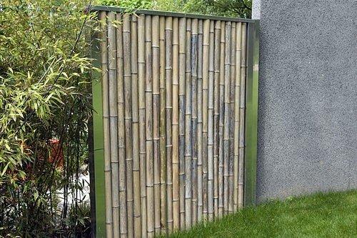 Udělejte si v zahradě bambusové zástěny.