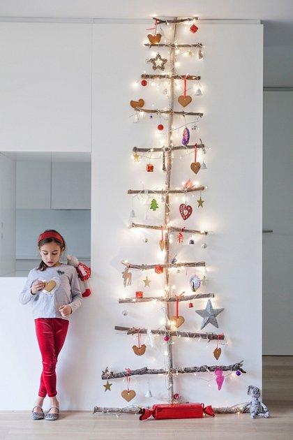Vánoční stromeček mlže být i bez jehličí.