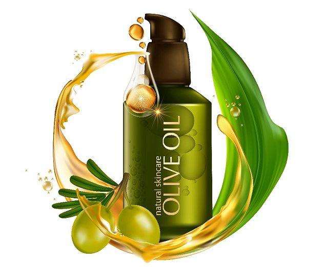 Při péči o pleť používáme nejkvalitnější olivové oleje.