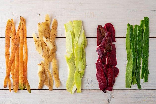 slupky zelenina