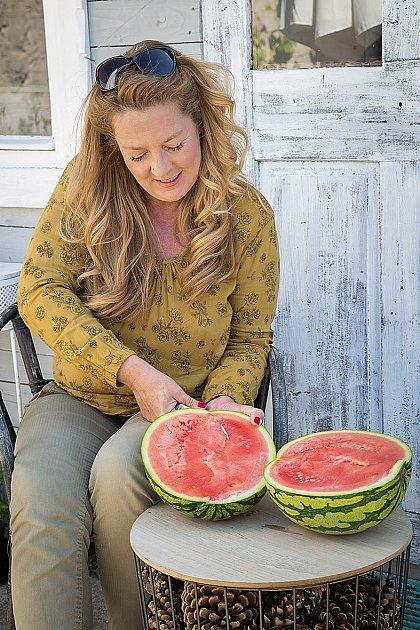Denisu inspiroval meloun, který tolik miluje.