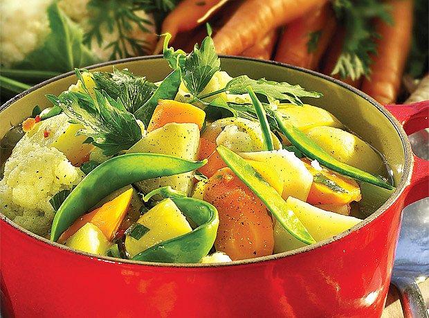 zeleninový hrnec
